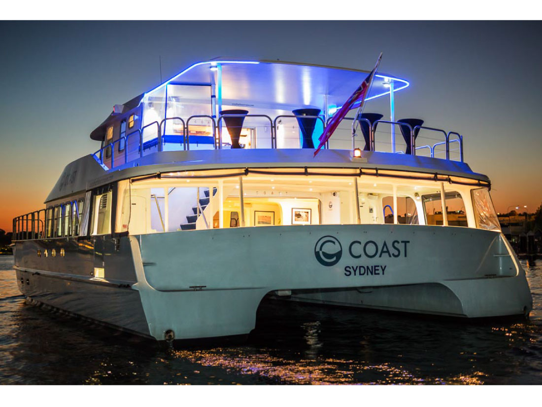 Coast vessel sydney harbour