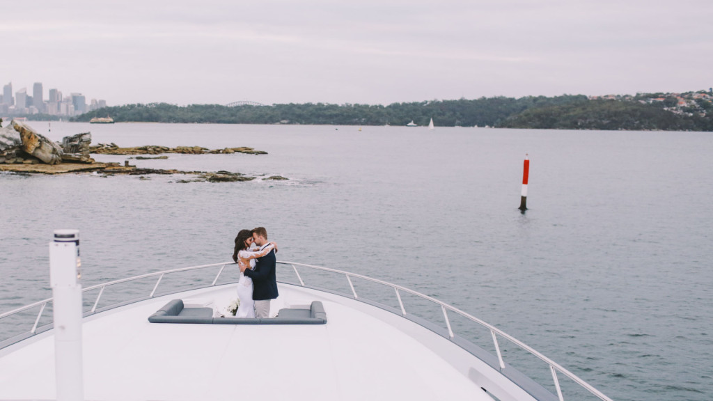 Super yacht wedding charters