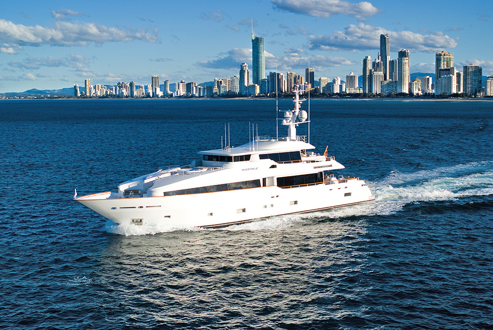 super yacht harbour charters
